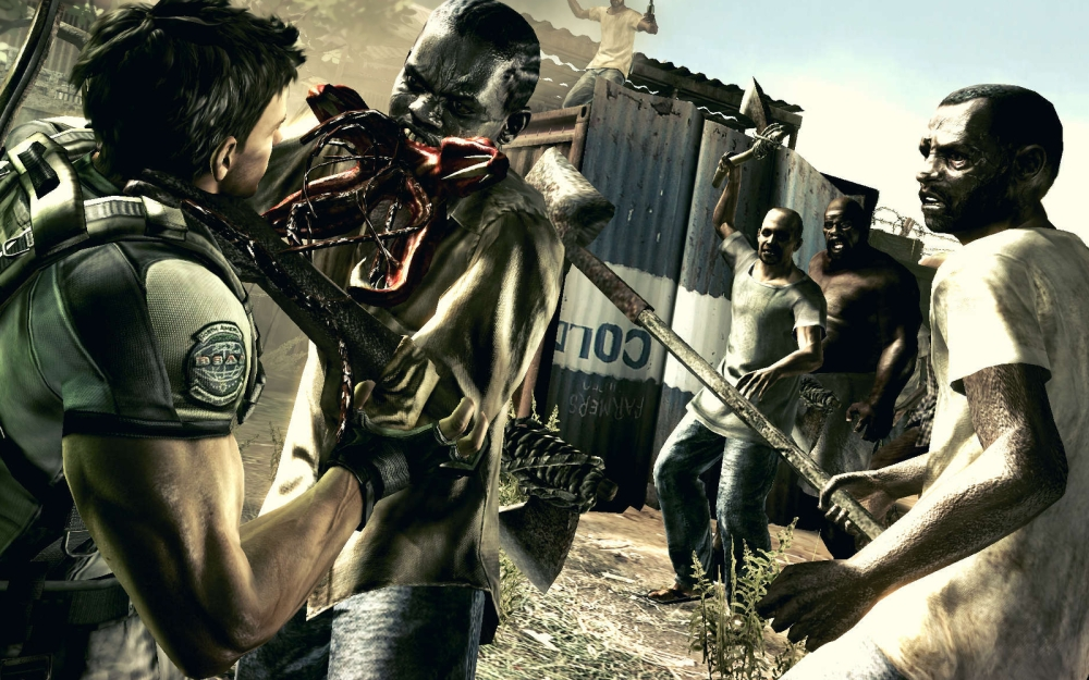 Resident Evil 5 - Chris Redfield - Blog: Unlocked