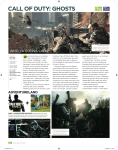 Call of Duty: Ghosts multiplayer preview as it appears in issue 133 of One Gamer magazine.