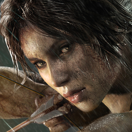 Lara Croft in Tomb Raider